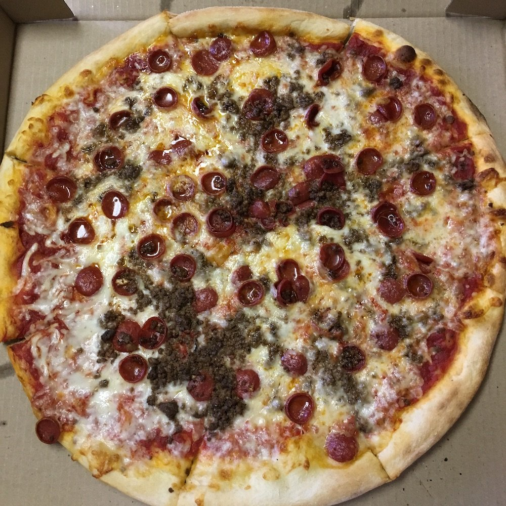 Pepperoni Beef Pizza