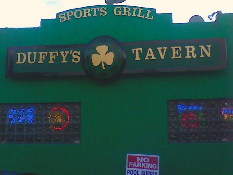 Grab a Cold Beer & a Charbroiled Burger at Duffy's Tavern