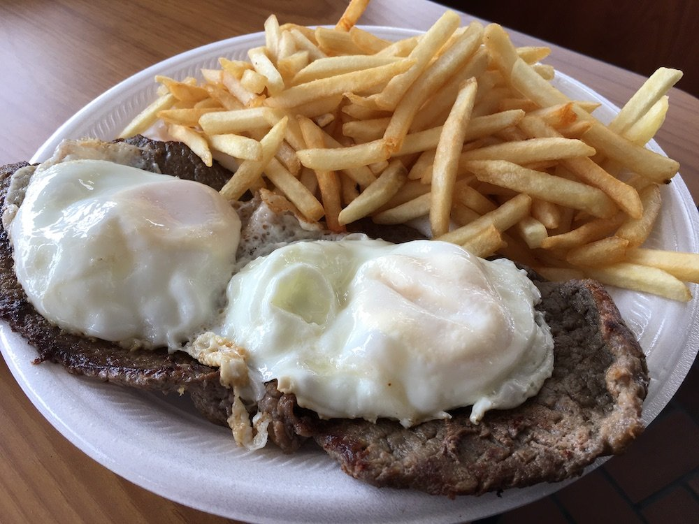 Steak & Eggs with Fries