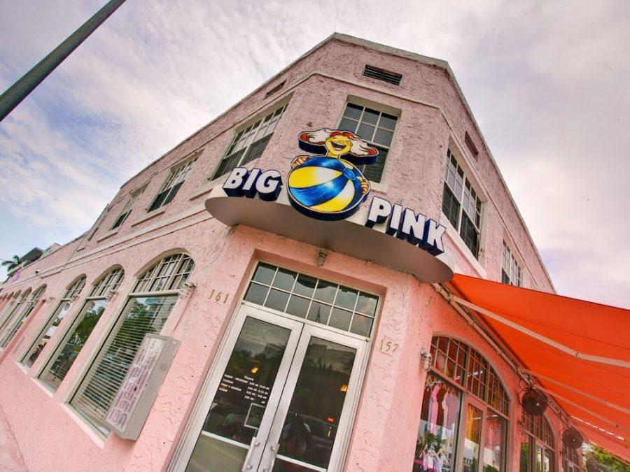 The Big Pink in Miami Beach, Florida