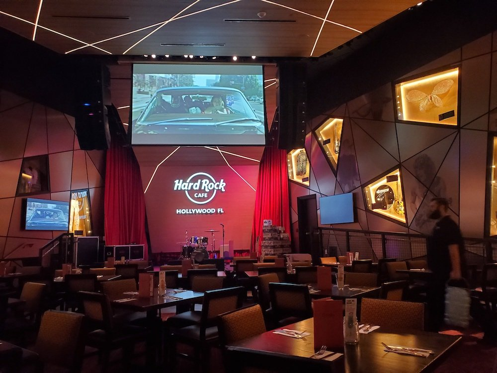 Hard Rock Cafe Stage in Hollywood, Florida