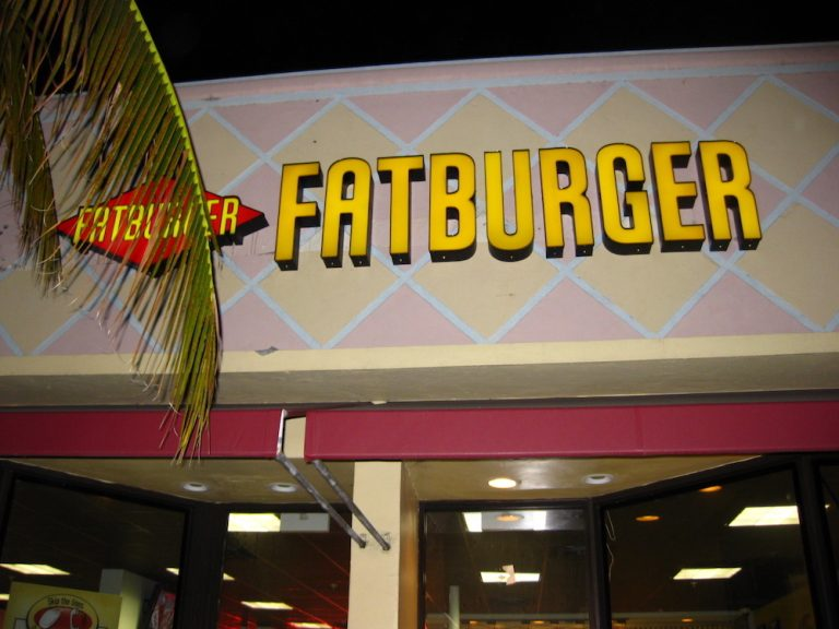 Fatburger for a Kingburger & Some Chili Cheese Fat Fries