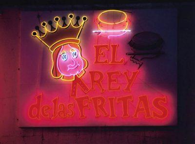 El Rey De Las Fritas Is A Miami Landmark In Little Havana