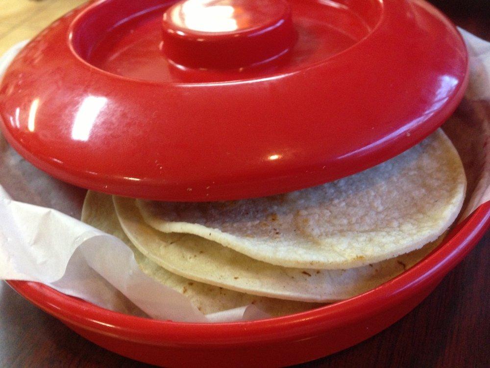 Warm Housemade Tortillas