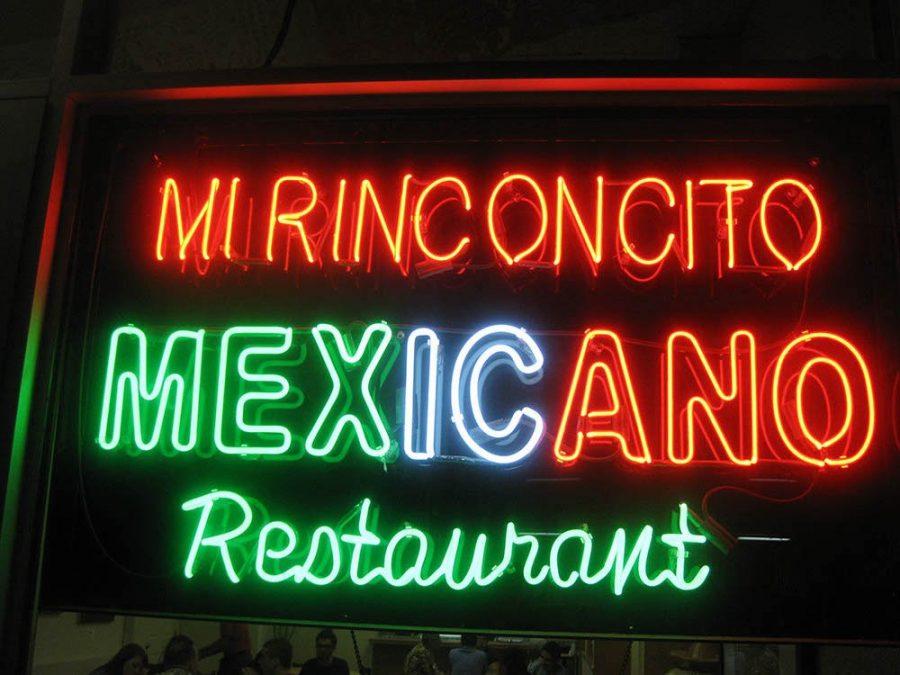 Mi Rinconcito Mexicano Neon Sign