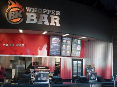 Burger King's BK Whopper Bar