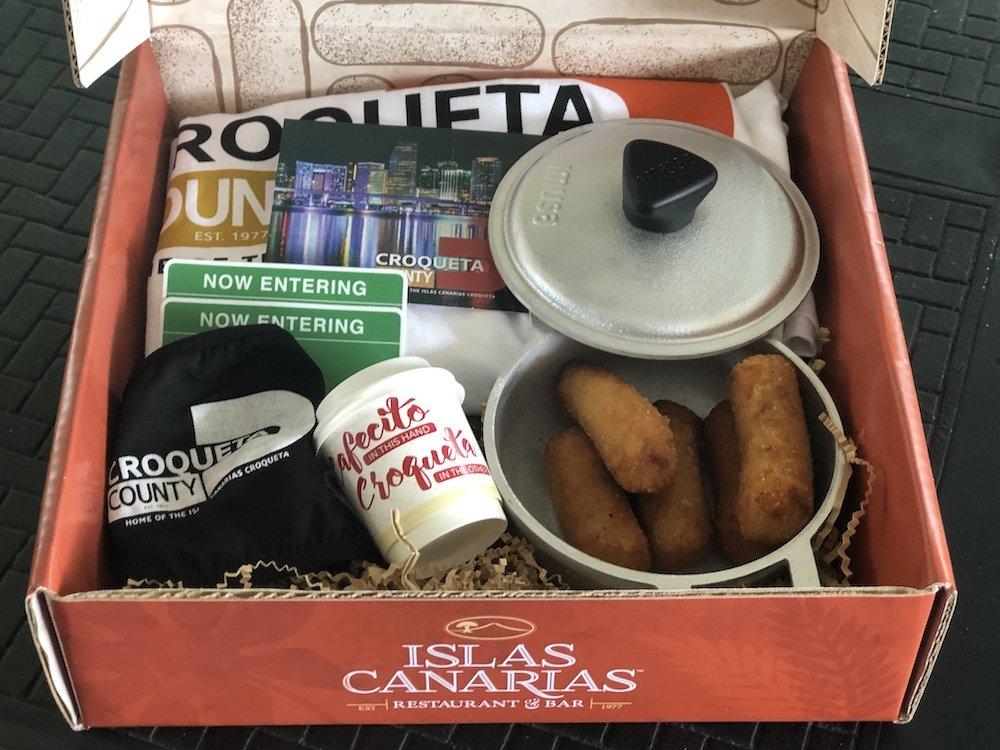 Croqueta County Open Box & Cazuela
