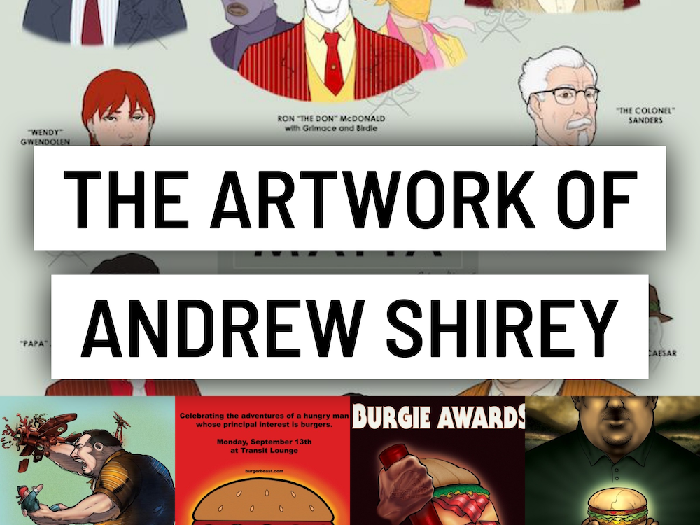 The Artwork of Andrew Shirey