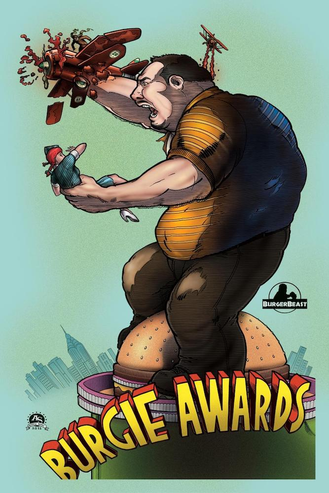 Burgie Awards Poster 2011 by Andrew Shirey