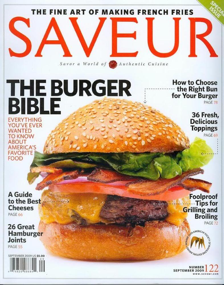 Saveur: The Burger Bible