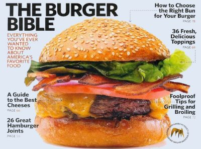 Saveur: The Burger Bible is a Collectible