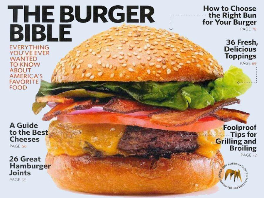 Saveur: The Burger Bible September 2009