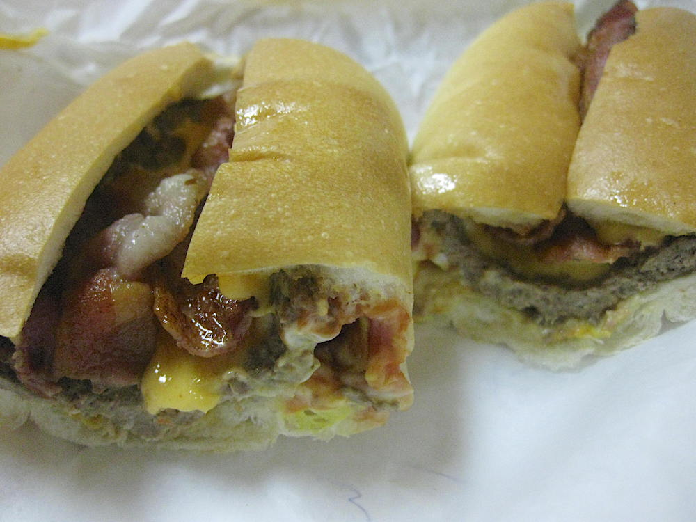 Super Subs Etc. Cheeseburger