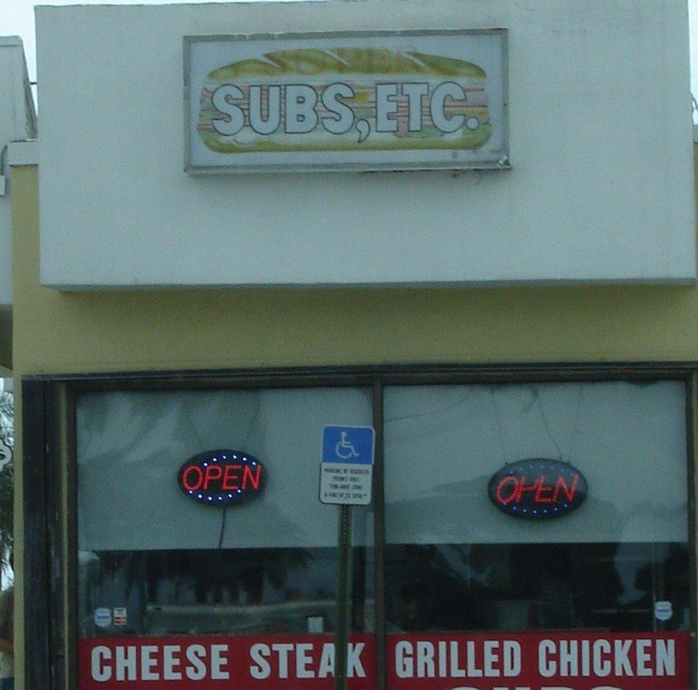 Original Outside of Super Subs Etc.