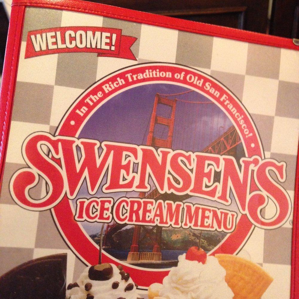 Swensen's Menu