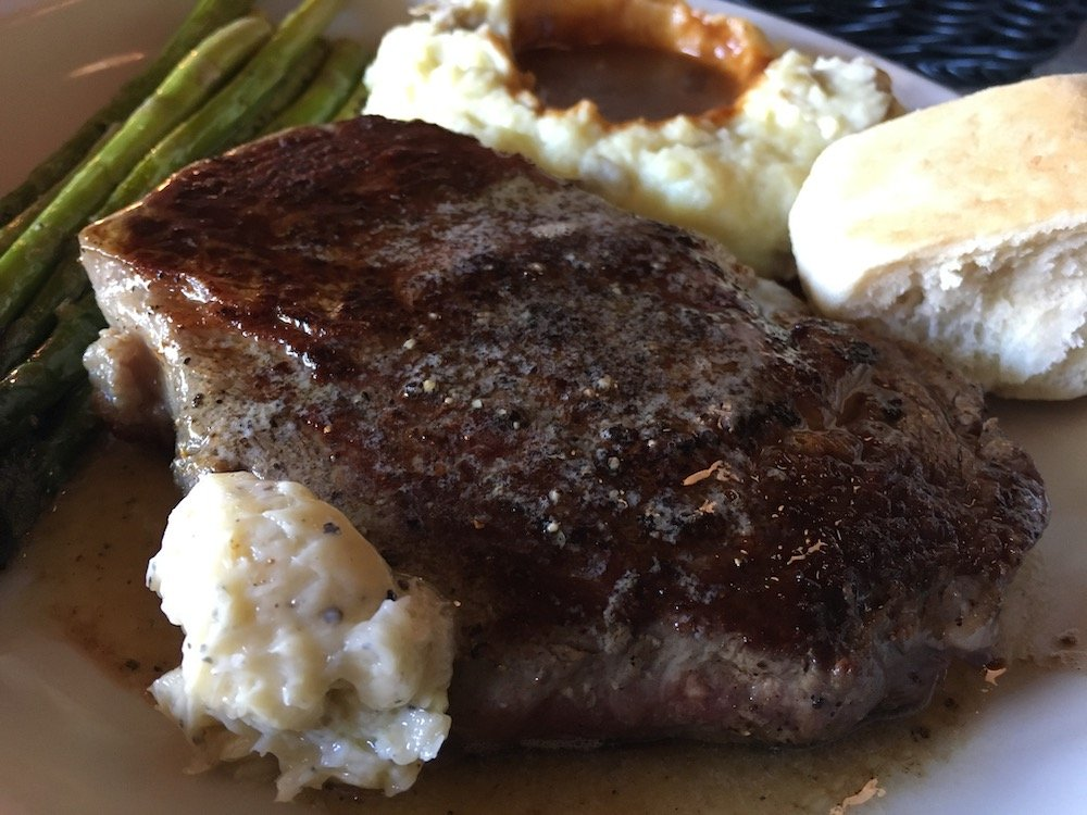 Ted's Montana Grill New York Strip