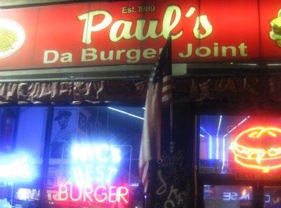 Paul's Da Burger Joint in New York, New York