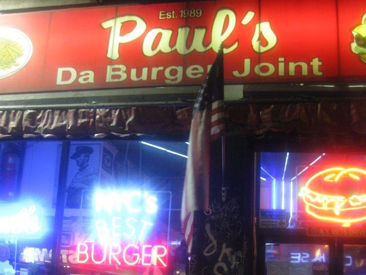 Paul's Da Burger Joint – New York, New York