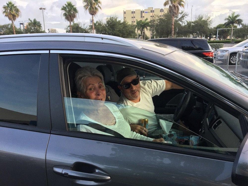 Pat & Troy at the Burger Beast Car Hop Drive-in