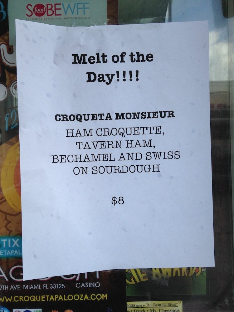 Ms. Cheezious Food Truck Special of the Day