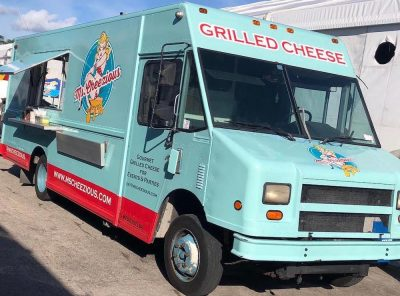 The Amazing Ms. Cheezious & their Grilled Cheeses