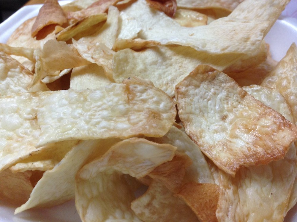 Malanga Chips aka Malanguitas