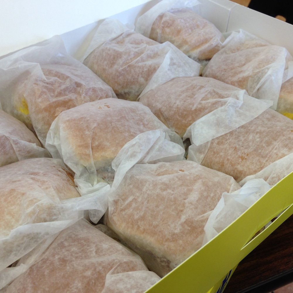 Donut King Box of Castle Burgers