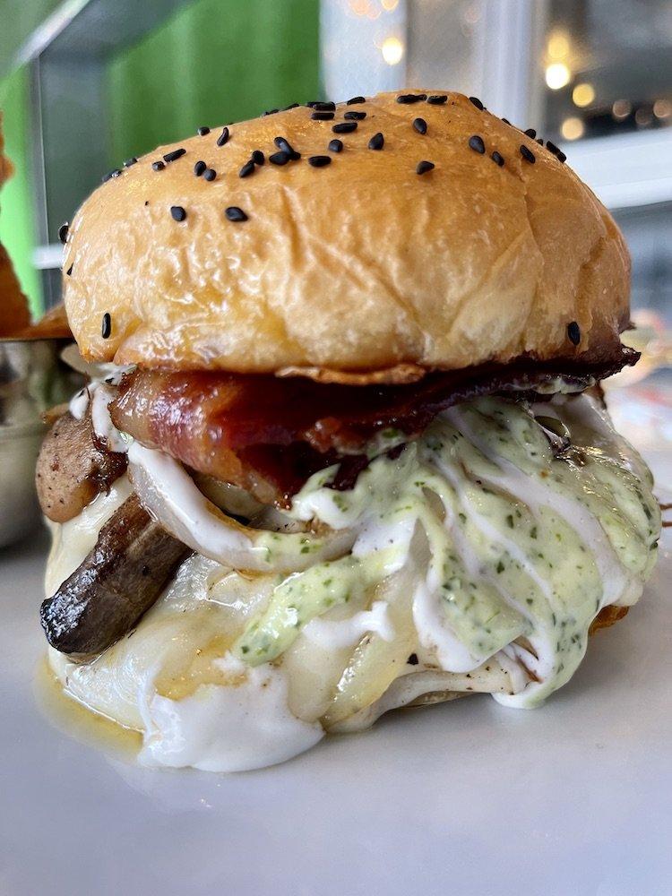 Latin House Grill Original Burger