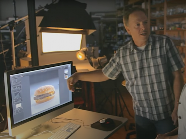 Why does a Fast Food Burger look better in advertising pictures?