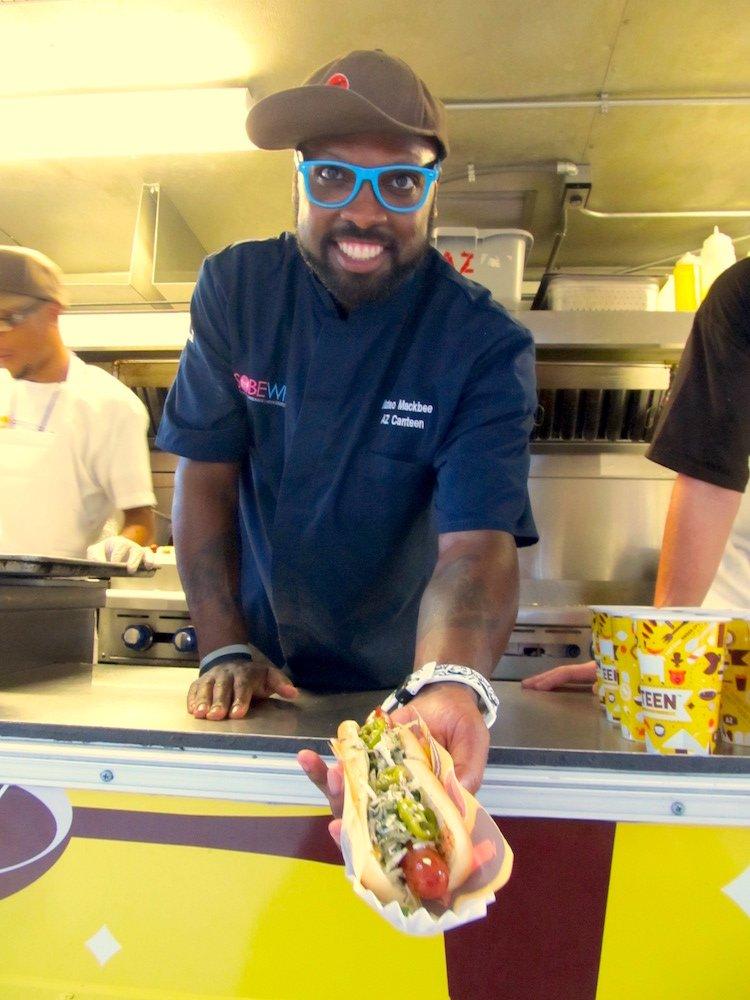 AZ Canteen's Chef Mateo Mackbee