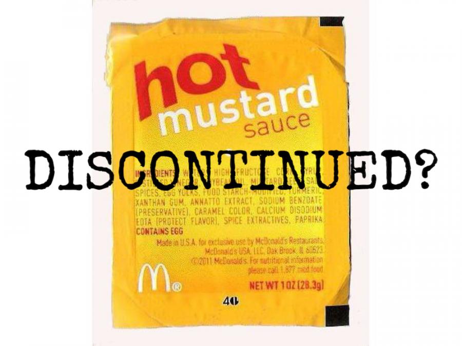 McDonald's Hot Mustard Discontinued?