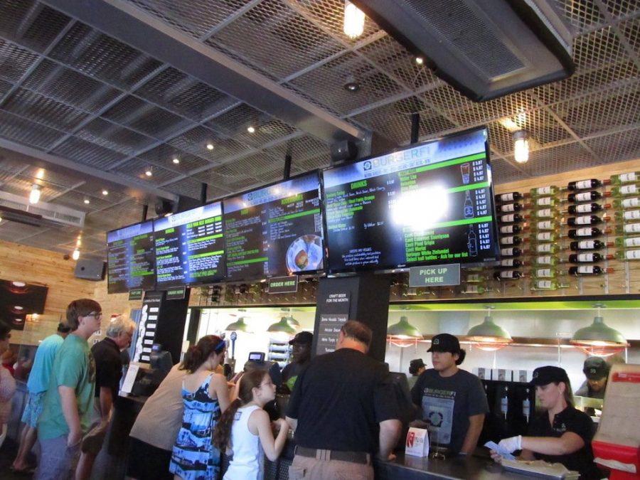 BurgerFi Order Counter