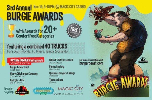 Burgie Awards 2011 Poster