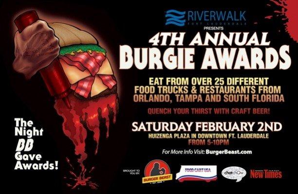 Burgie Awards 2013 Poster