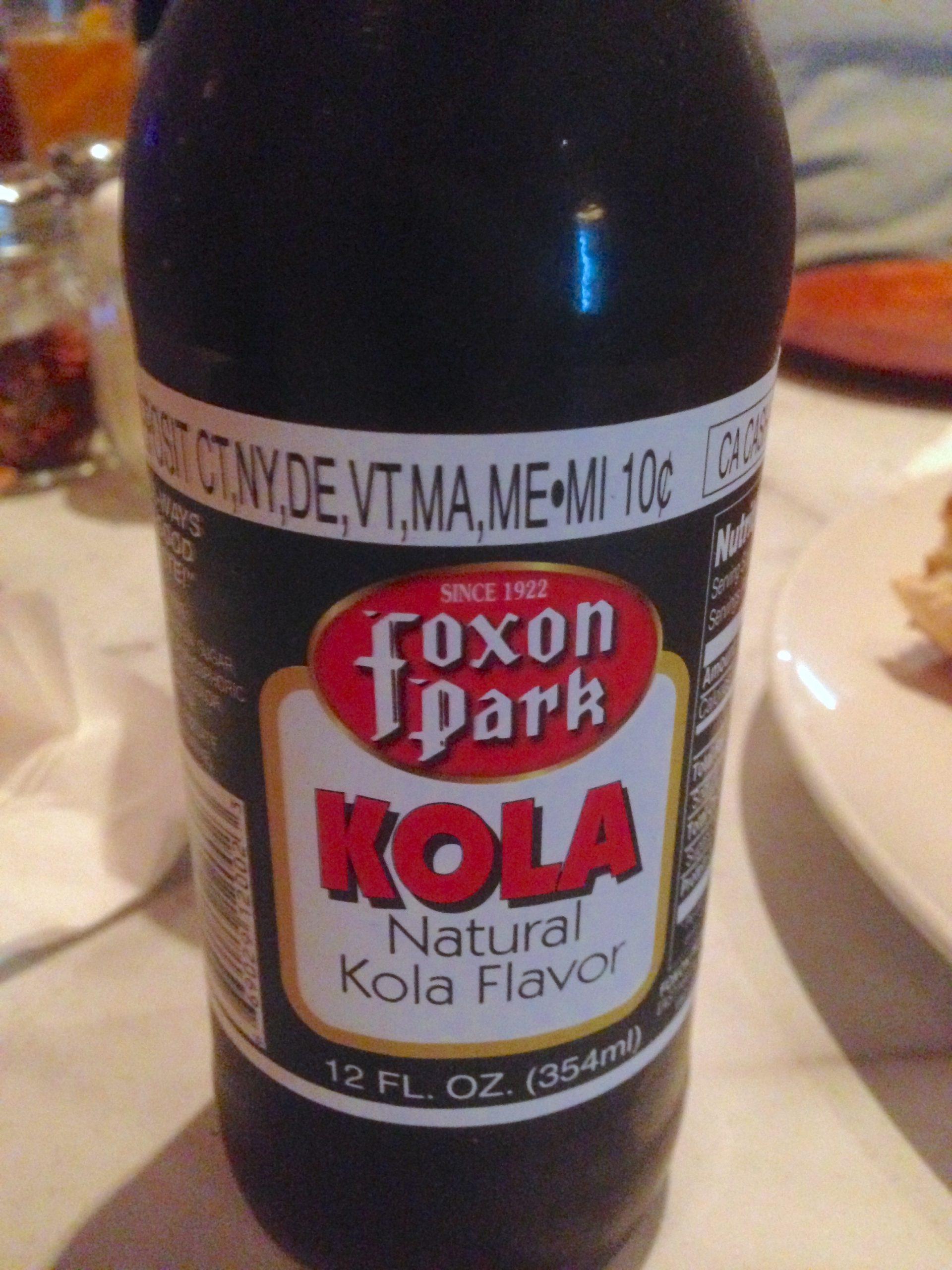 Foxon Park Kola