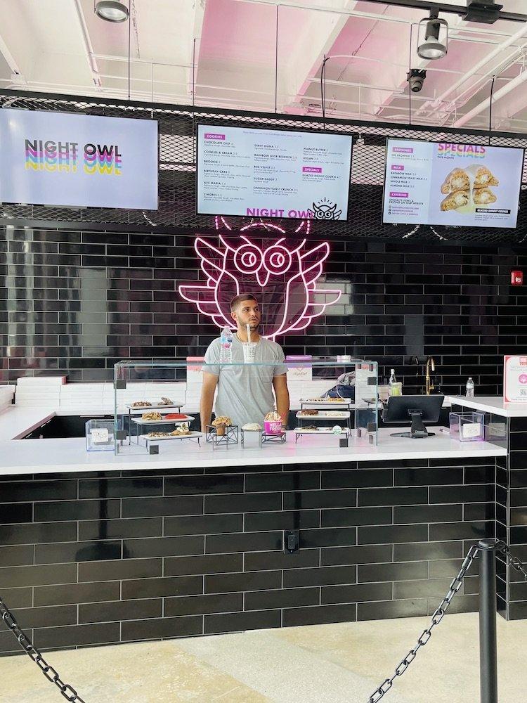 Night Owl Cookies Wynwood Order Counter