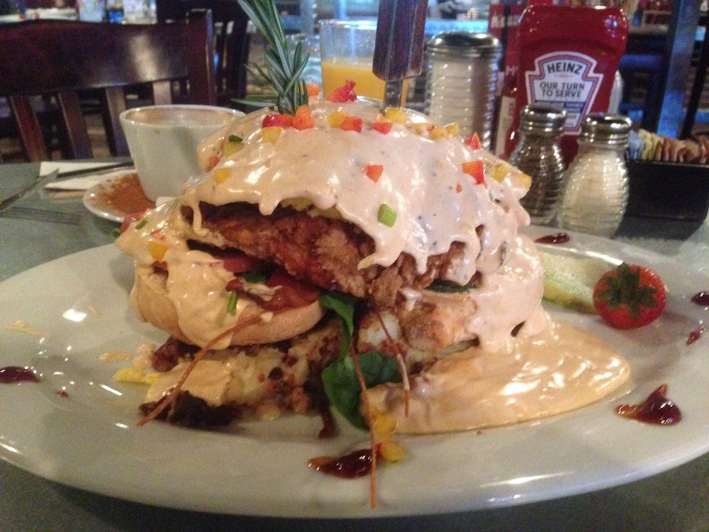 Hash House a Gogo Andy's Sage Fried Chicken
