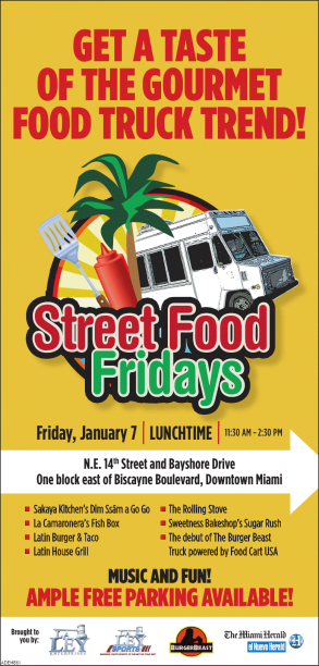 Street Food Fridays Event