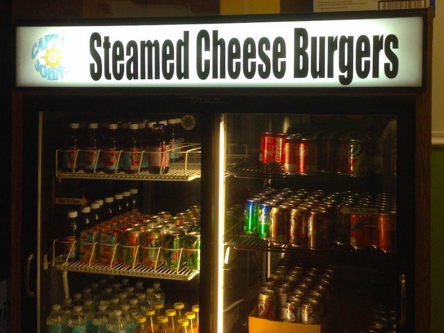 Captain John's Steamed Cheeseburger