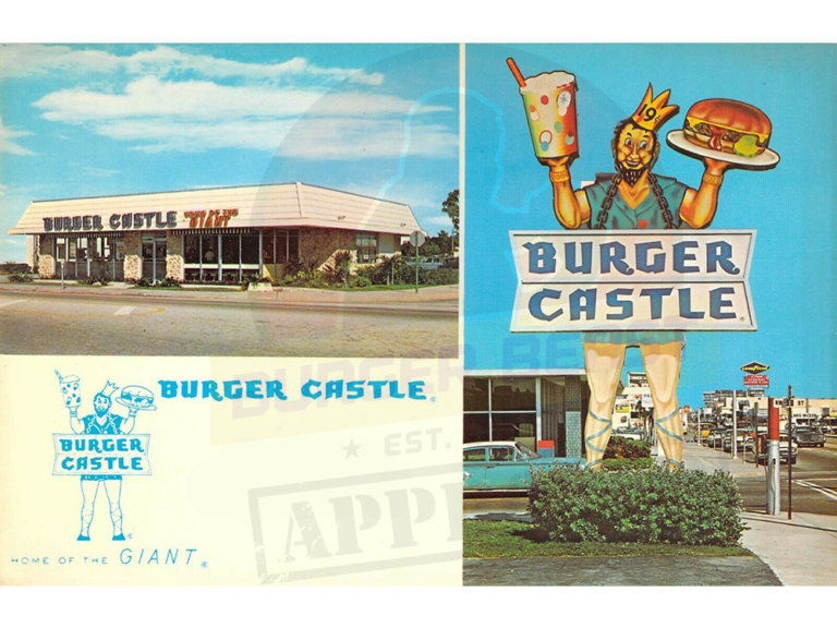 There was a Burger Castle Restaurant Once Upon a Time