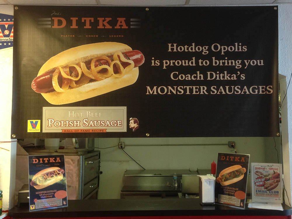Ditka Monster Sausages
