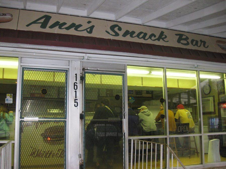 Ann's Snack Bar in Atlanta, Georgia