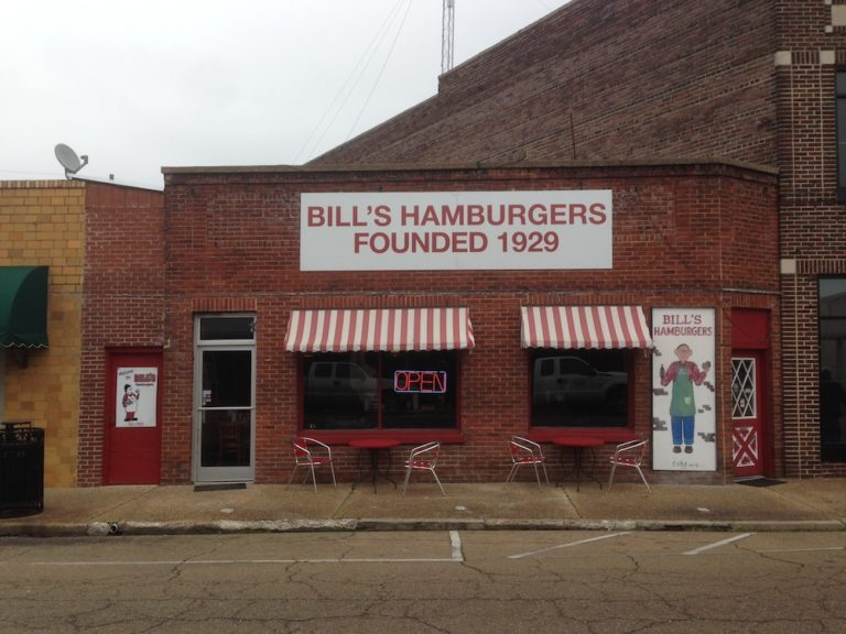 Start with a Double at Bill's Hamburgers in Amory