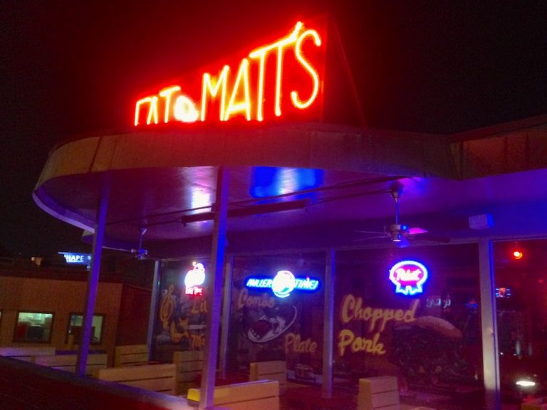 Late Night BBQ at Fat Matt's Rib Shack in Atlanta