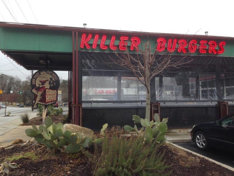 Grindhouse Killer Burgers with a side of Cult Films