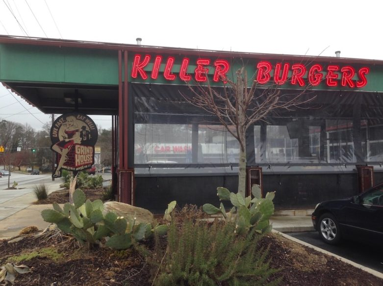 Grindhouse Killer Burgers on Piedmont - Atlanta, Georgia