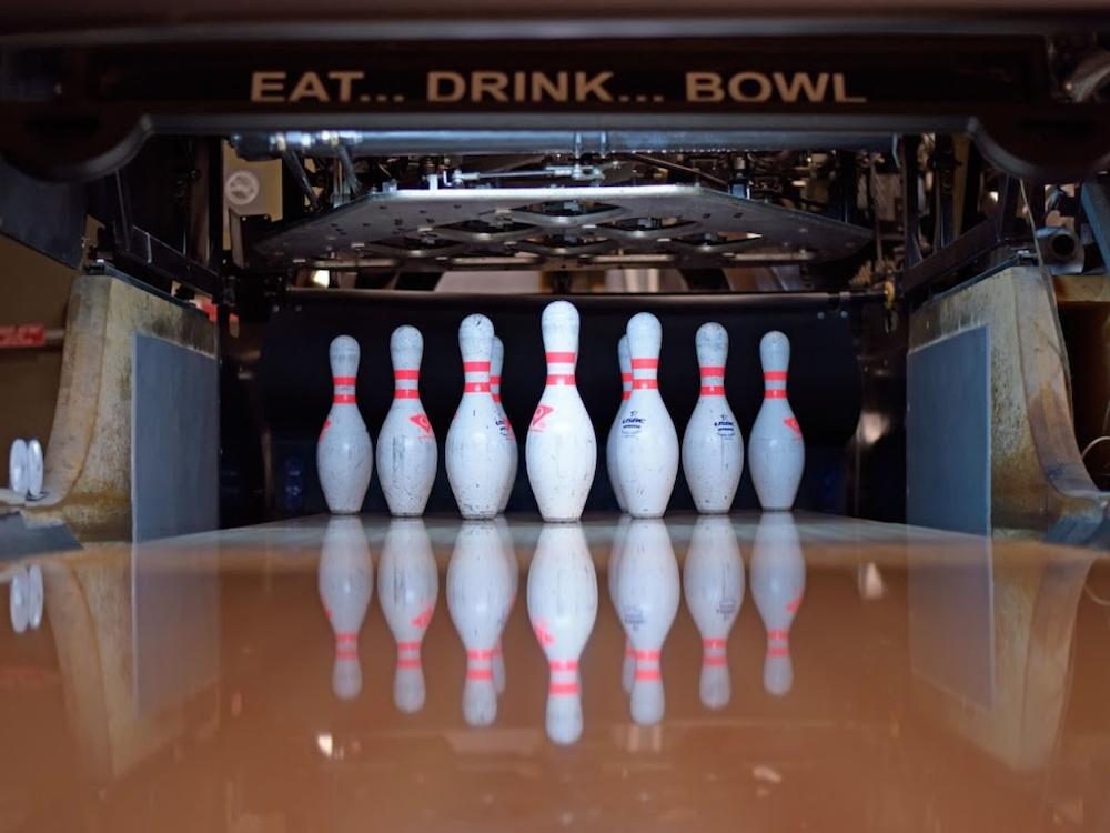 Pins at Bird Bowl