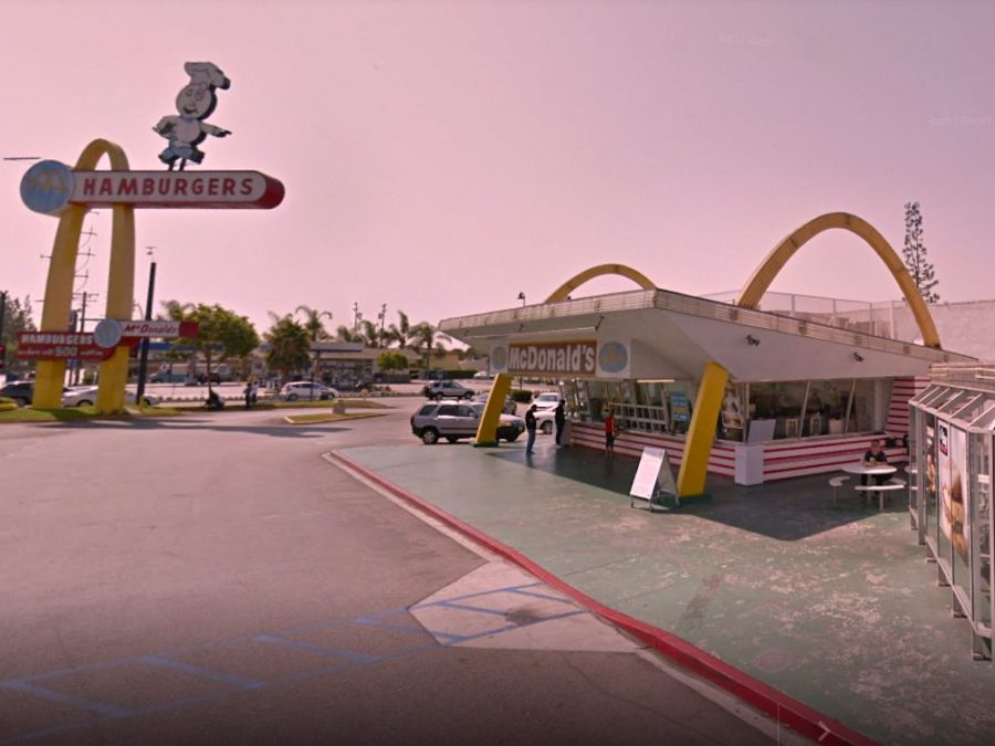 3rd McDonalds in Downey, California