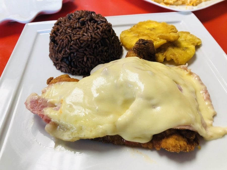 Odaly's Delight Cafe Milanesa