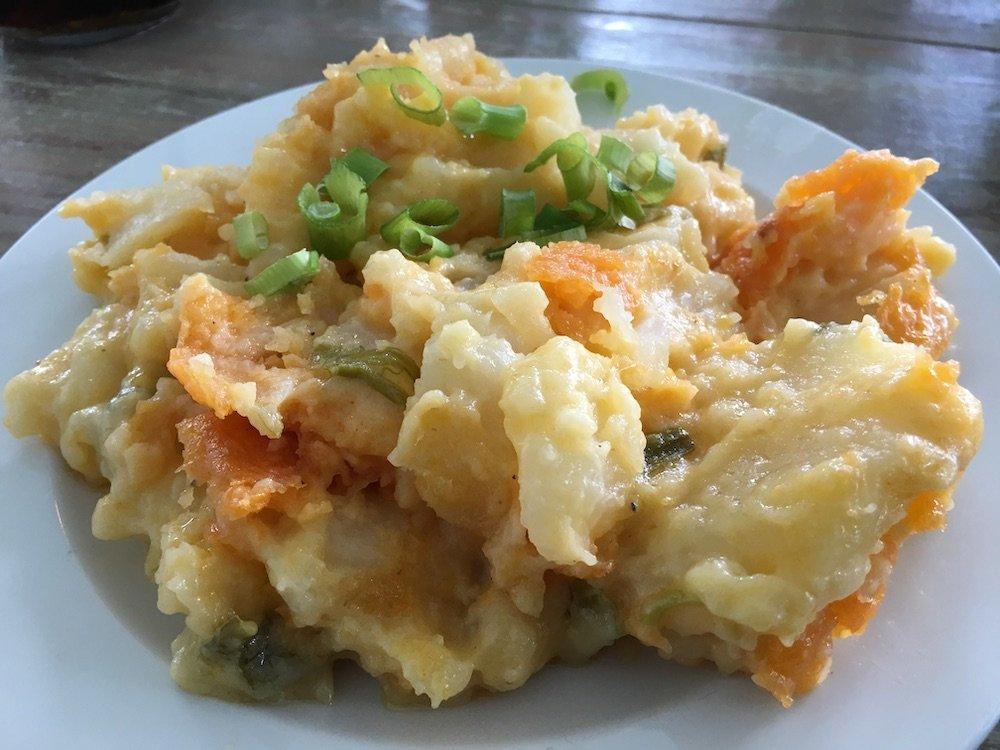 Cheesy Breakfast Potatoes